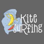 Lustige Kite Surfing Banane - Für Surfing Lovers