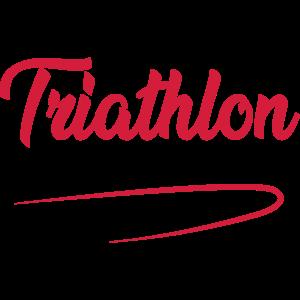 Triathlon swim cycle run