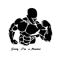 Bodybuilder Motiv