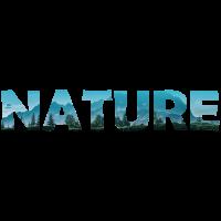 Schriftzug Nature