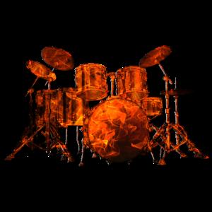 Feuer Schlagzeug
