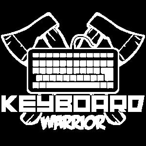 Gaming Computer Keyboard Kriger Zocken Tastatur