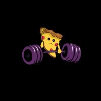 Pizza Training Fitness Geschenk Sport Geschenkidee