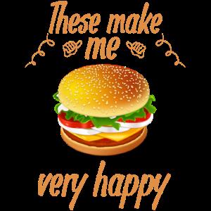 Cheeseburger Addict Cheeseburger machen mich glücklich