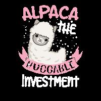 Alpaka das umarmbare Investitionsgeschenk