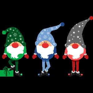 3 Kleine Weihnachtsmänner