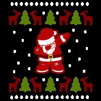 Weihnachtsmann - Dabbing Santa Frohe Weihnachten