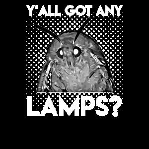 Moth Meme Lamp ya'll got any lamps T-Shirt