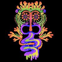 Goa Neon Psytrance Mandala