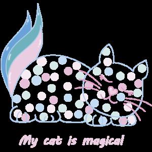 magische katze