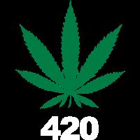 420 Weed Cannabis Ganja Geschenk