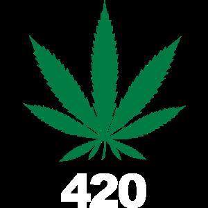 Weed Shirt 420 Tag Maryjane Gras Cannabis Geschenk