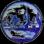 Delfts Blauw kerk