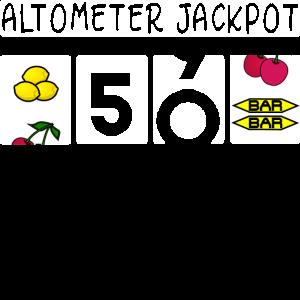 Altometer 50. Geburtstag Jackpot Gambling Casino