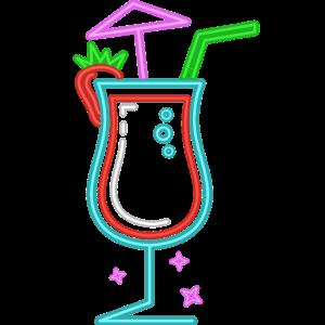 Cocktail Party-Urlaub Nächte Neon Drink Party
