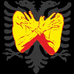 Doppeladler Albanien