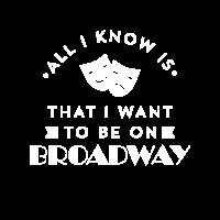 Schauspieler Schauspielerin Broadway Acting Funny Theatre TShirt