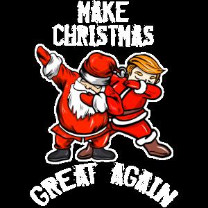 Weihnachten Trump T Shirt Geschenk Lustiger Spruch