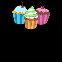 Backen Muffin Törtchen Bäckerei Süßigkeit Geschenk