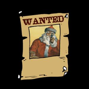 Gesucht Weihnachtsmann. Tot oder Lebendig