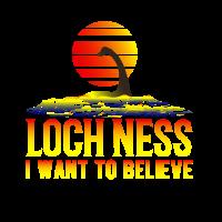 Loch Ness Nessie See Ungeheur Monster Schottland
