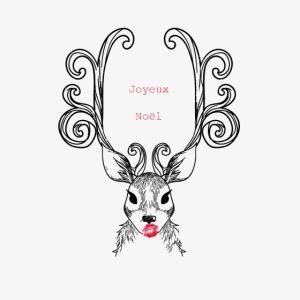 cerf Joyeux Noel