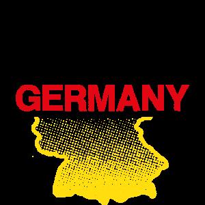 Germany, BRD, Deutschland, Umriss