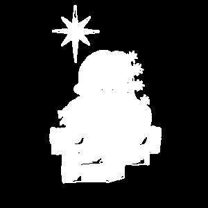 nikolaus weihnachtsmann cool geschenk shirt
