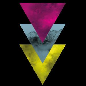 Berg im Dreieck