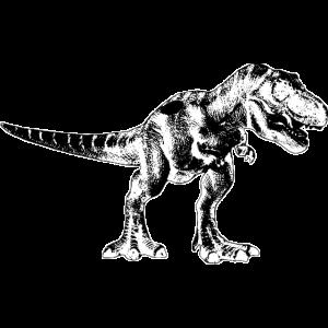 Cooles Dinosaurier Shirt