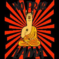 No Problama Problem Dalai Lama Himalaya Geschenk