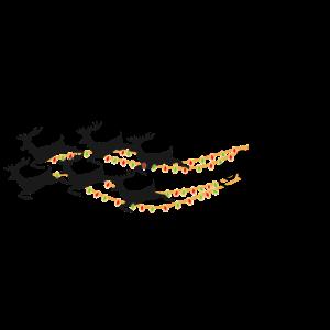Schlitten - Weihnachtsmann