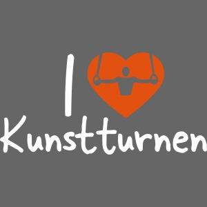 I love Kunstturnen Geschenk Geräteturner