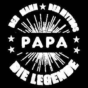 PAPA - Der Mann, Der Mythos, Die Legende T-Shirt