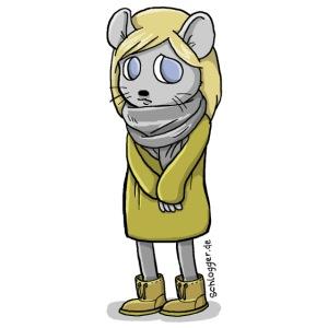 Schüchterne Maus (Schlogger)
