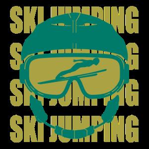 Skispringen Ski Biathlon Wintersport Geschenk