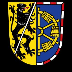 Landkreis Erlangen Hoechstadt Wappen (Coat of Arms