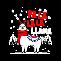 Falalalala Lama Weihnachtsgeschenk