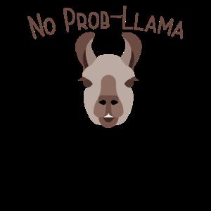 Lama lustiges Design - kein Prob-Lama
