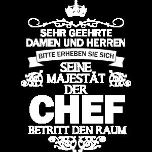 Seine Majestät Chef Boss Vorgesetzter Geschenkidee