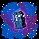 TARDIS (für andere Hintergründe als Schwarz)