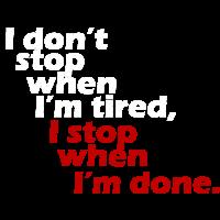 Ich habe keine Motivation Training aufhören weiß