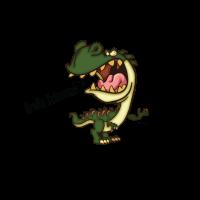Wütender T-Rex - Große Schnauze - kleiner Bizeps