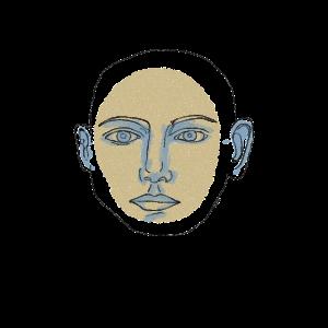 Gesicht Zeichnung