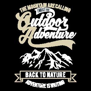 Abenteuer Natur Berge Outdoor Geschenkidee