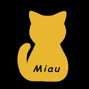 Miau Katze Bild Geschenk