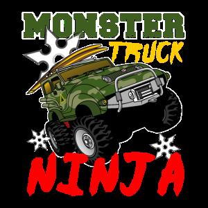 Monster Truck Jam Ninja