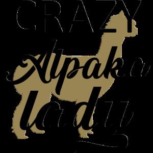 Crazy Alpaka Lady