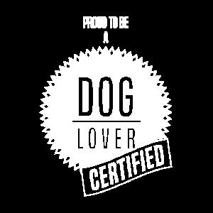 zertifizierter Hundeliebhaber