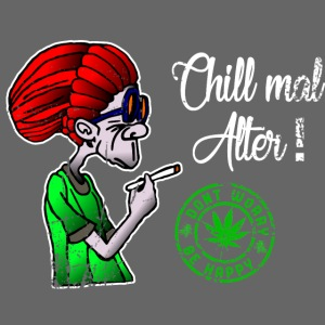 Chill old age, smoke weed everyday, vintage